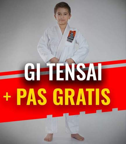 """GI do BJJ dla dzieci """"Tensai"""" (Białe) + pas GRATIS"""