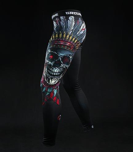"""Legginsy """"Indian Skull"""""""