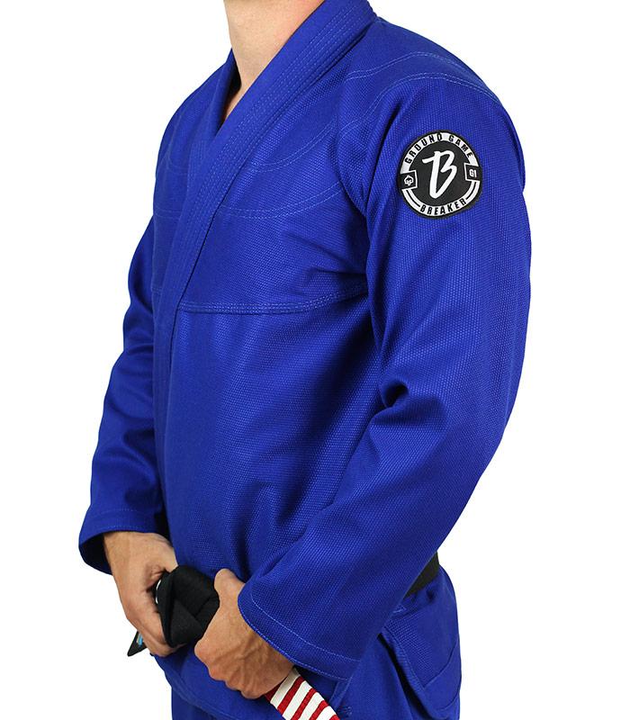 "Bluza ""Breaker"" do kimona BJJ niebieska"