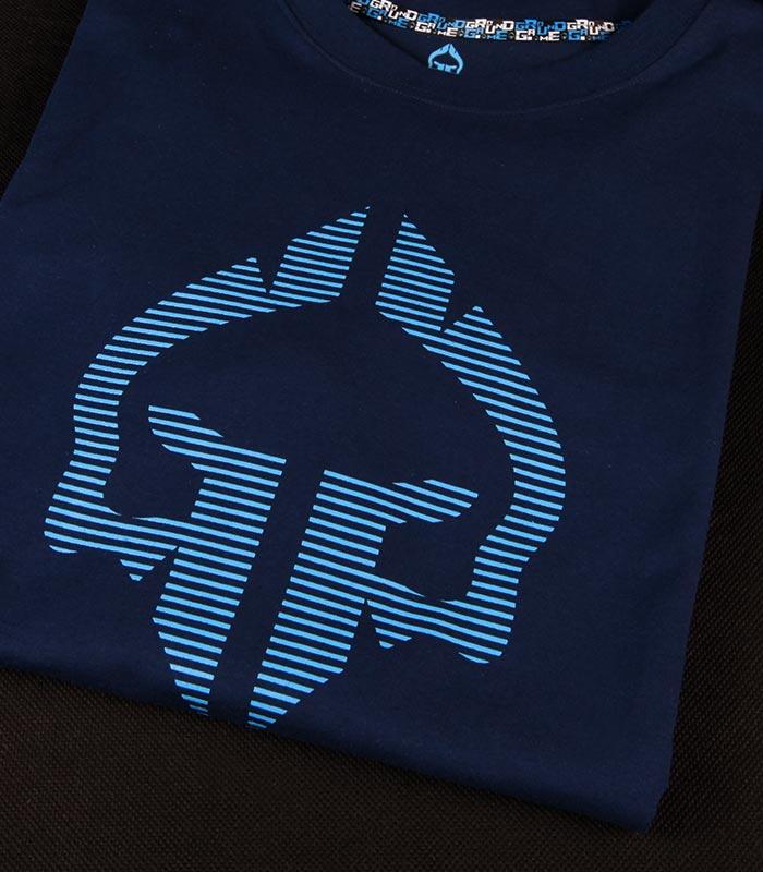 """T-shirt """"Big Logo"""" Granatowy"""