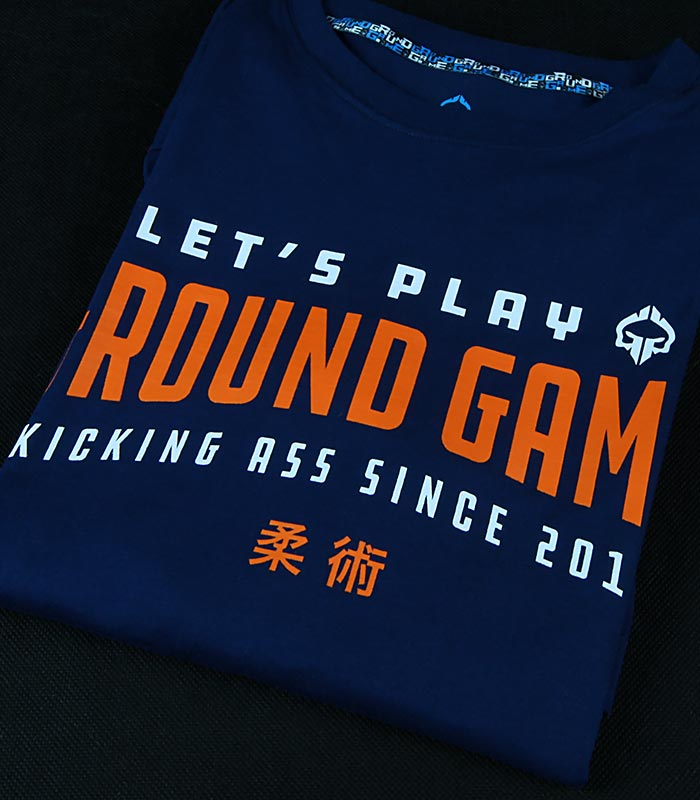 "T-shirt ""Player"" Granatowy"