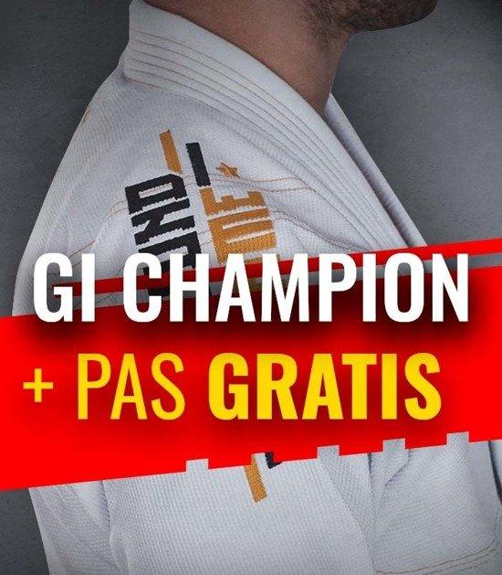 """GI do BJJ """"Champion"""" (Białe) + pas GRATIS"""