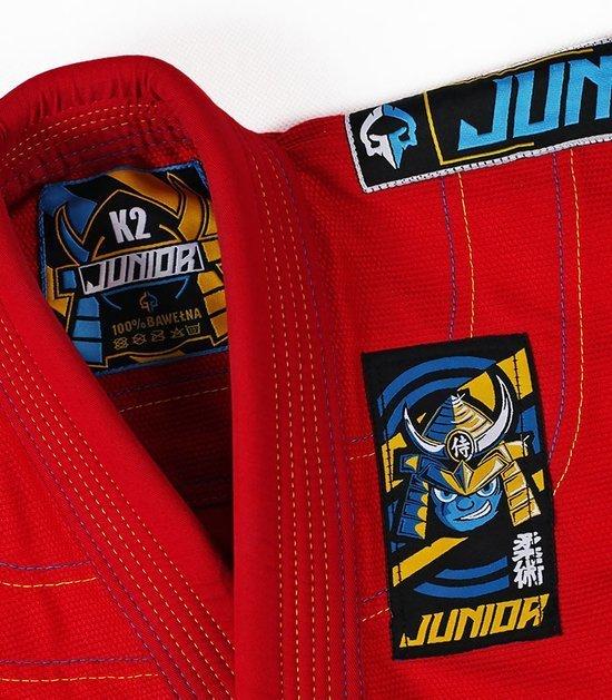 """GI do BJJ dla dzieci """"Junior 3.0"""" (Czerwone)"""