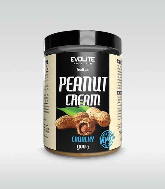 Masło orzechowe Evolite Peanut Cream Crunchy 900g