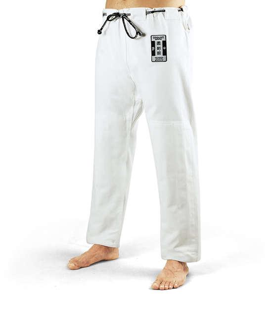 """Spodnie """"Breaker"""" do kimona BJJ białe"""