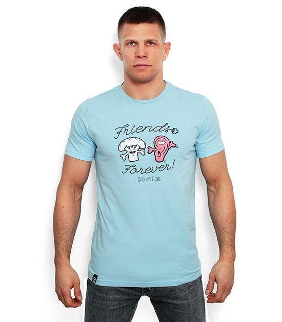 """T-shirt """"Friends Forever"""" Jasny niebieski"""